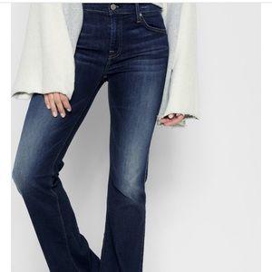 7 for all mankind dojo flip flop boot cut jeans.